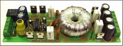 ...рис.1, принципиальная электрическая схема - на рис.2. В качестве схемы управления используется микросхема TL494CN...